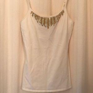 Express basic bra cami with beadwork